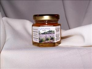 2oz Jar of Lavender Infused Honey: